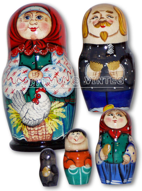 Russian Folk Tale of Hen the Ryaba